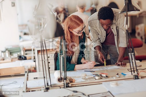 625060360 istock photo Architects working together 515475010