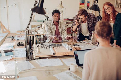 625937646 istock photo Architects working together 515475194