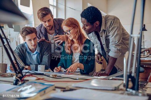 istock Architects working together 517716178