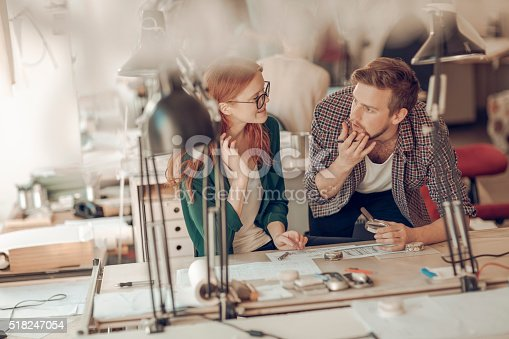 625937646 istock photo Architects working together 518247054
