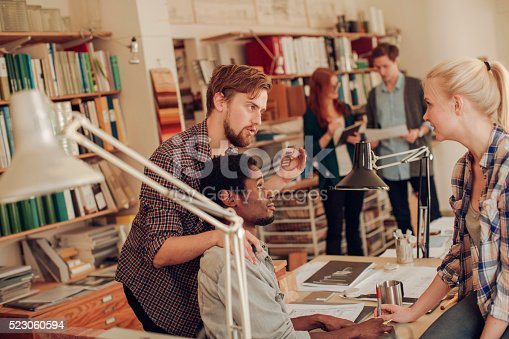 625937646 istock photo Architects working together 523060594