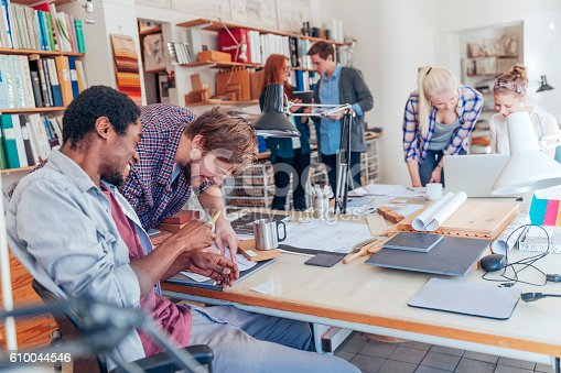625060360 istock photo Architects working together 610044546