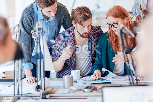 625060360 istock photo Architects working together 610264342