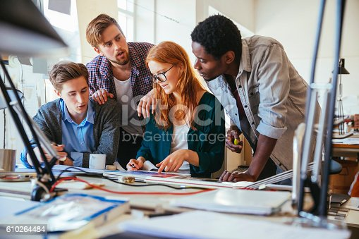 625060360 istock photo Architects working together 610264484