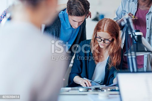 istock Architects working together 625059414