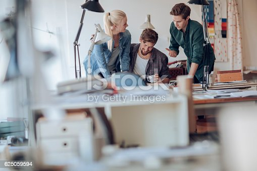 istock Architects working together 625059594