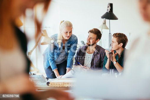 625937646 istock photo Architects working together 625059756