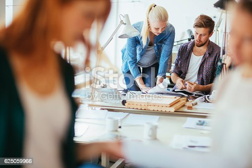 625060360 istock photo Architects working together 625059966