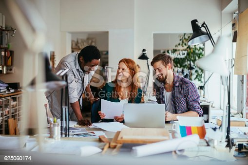625060360 istock photo Architects working together 625060174