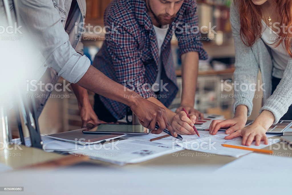 Architects working together​​​ foto