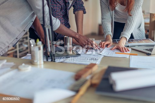 istock Architects working together 625060532
