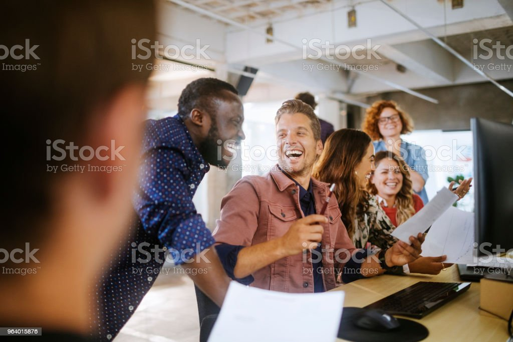 Architects working together - Royalty-free 20-29 Years Stock Photo