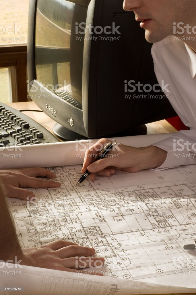 Architectual review royalty-free stock photo