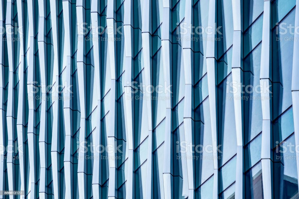 Architectural abstract, a modern office building - Royalty-free Abstract Stock Photo