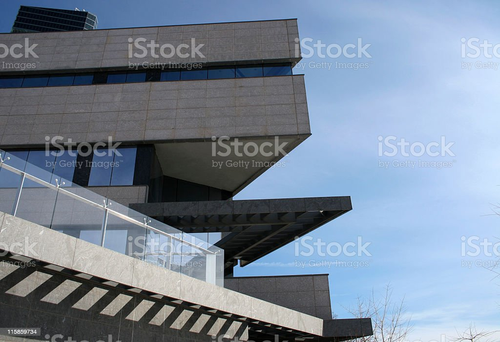 architectural angles royalty-free stock photo