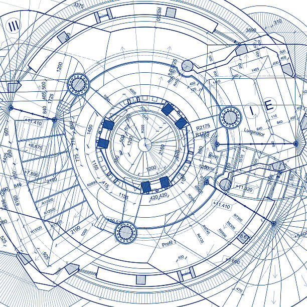 Royalty free civil engineering pictures images and stock photos architectural blueprints on white background stock photo safety helmet on civil engineering malvernweather Images