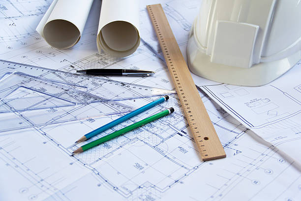 Royalty free civil engineering pictures images and stock photos architectural blueprints stock photo malvernweather Images