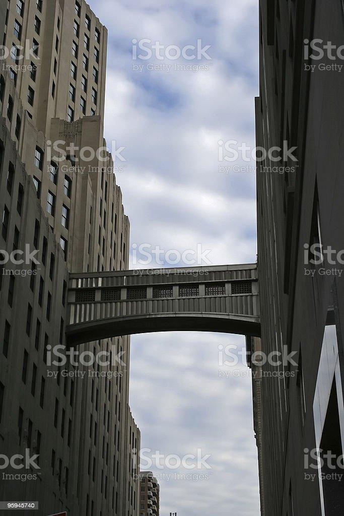 Architectural Bridge in New York - Attachment stock photo