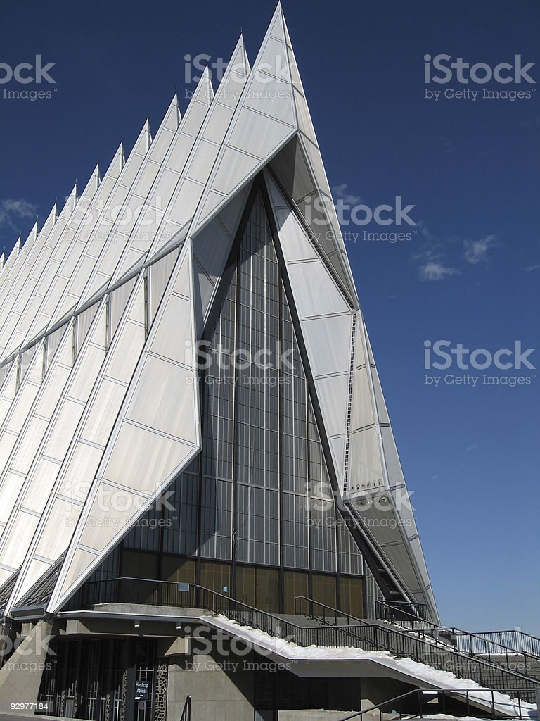 architectural chapel stock photo