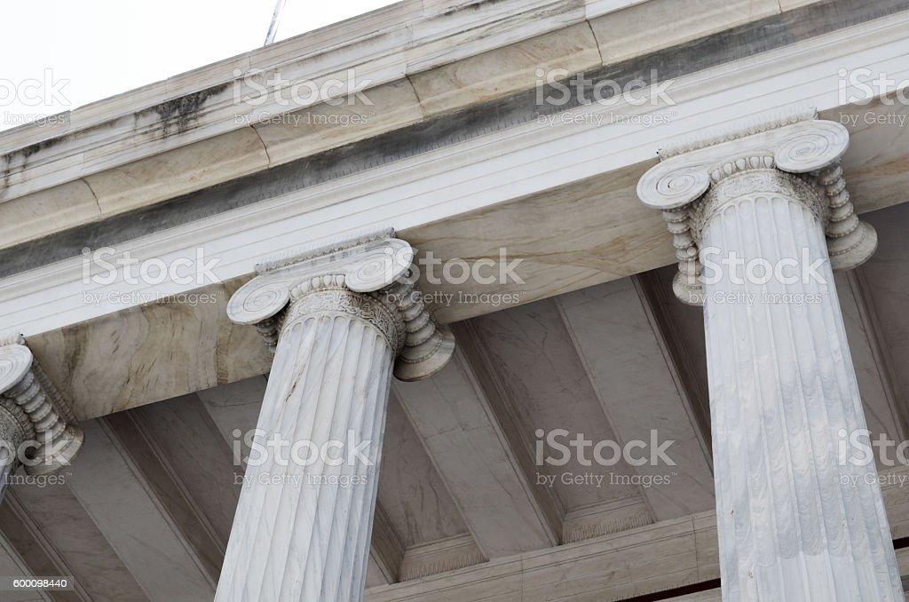 Architectural column. stock photo