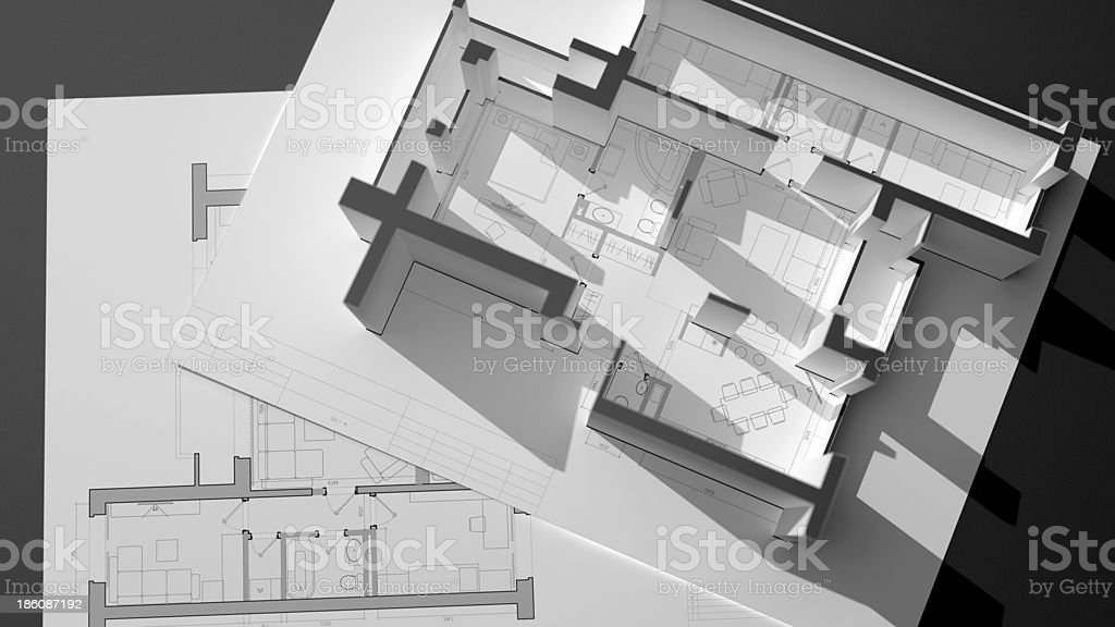 architectural concept royalty-free stock photo