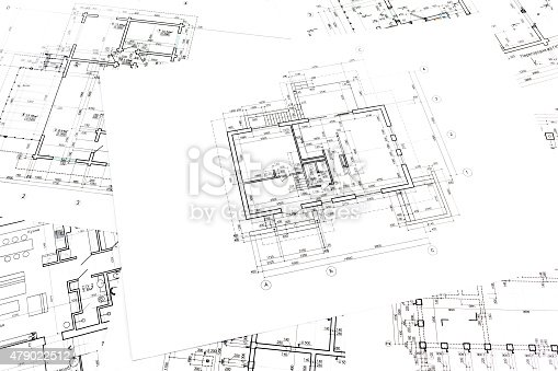 istock architectural construction documents and floor plans 479022512