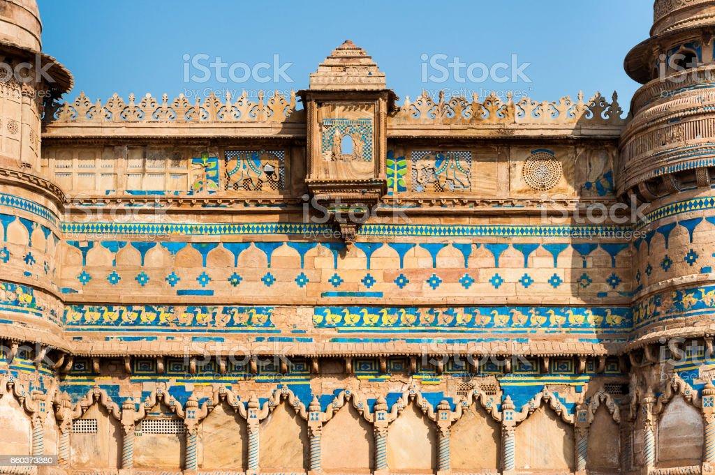Détails Architecturaux Fort De Gwalior Orchha Inde Photos Et Plus