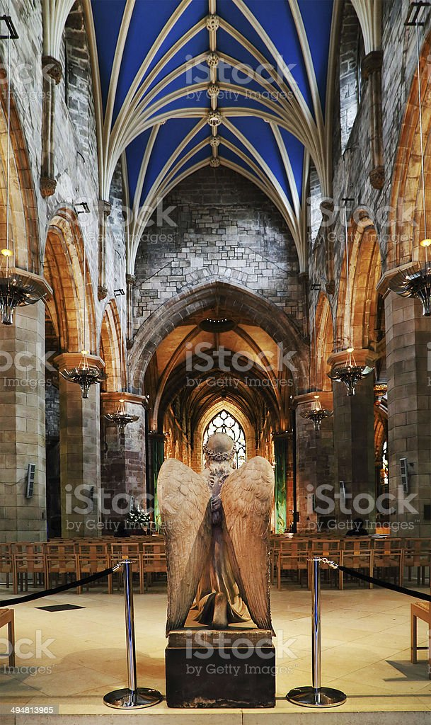 Architectural Detail In Edinburgh Stock Photo - Download Image Now