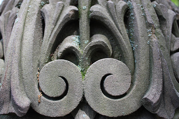 Architectural Detail in NYC stock photo