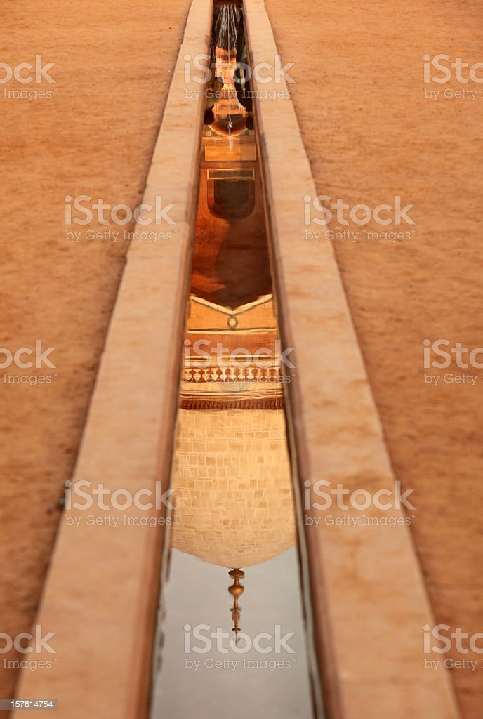 Architectural Detail of Humayun's Tomb royalty-free stock photo