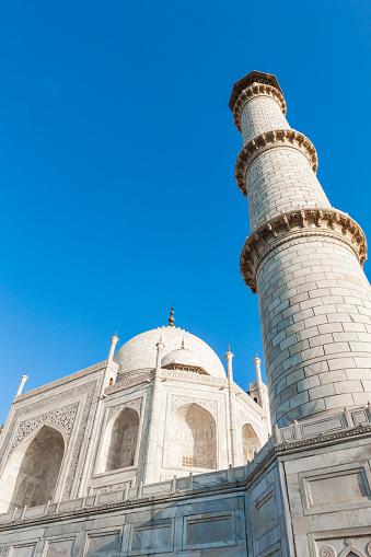 Architectonische Details Van De Taj Mahal In Agra India Stockfoto en meer beelden van Agra