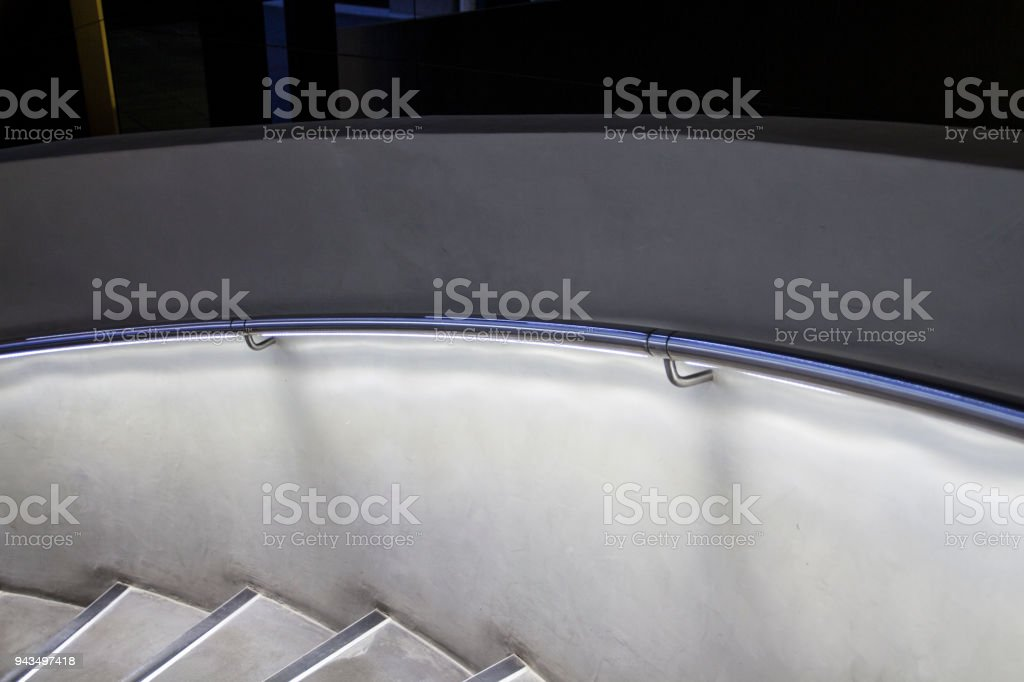Architectural Details, Circular Staircase stock photo