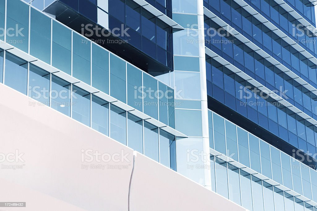 Architectural details in Melbourne - Australia royalty-free stock photo