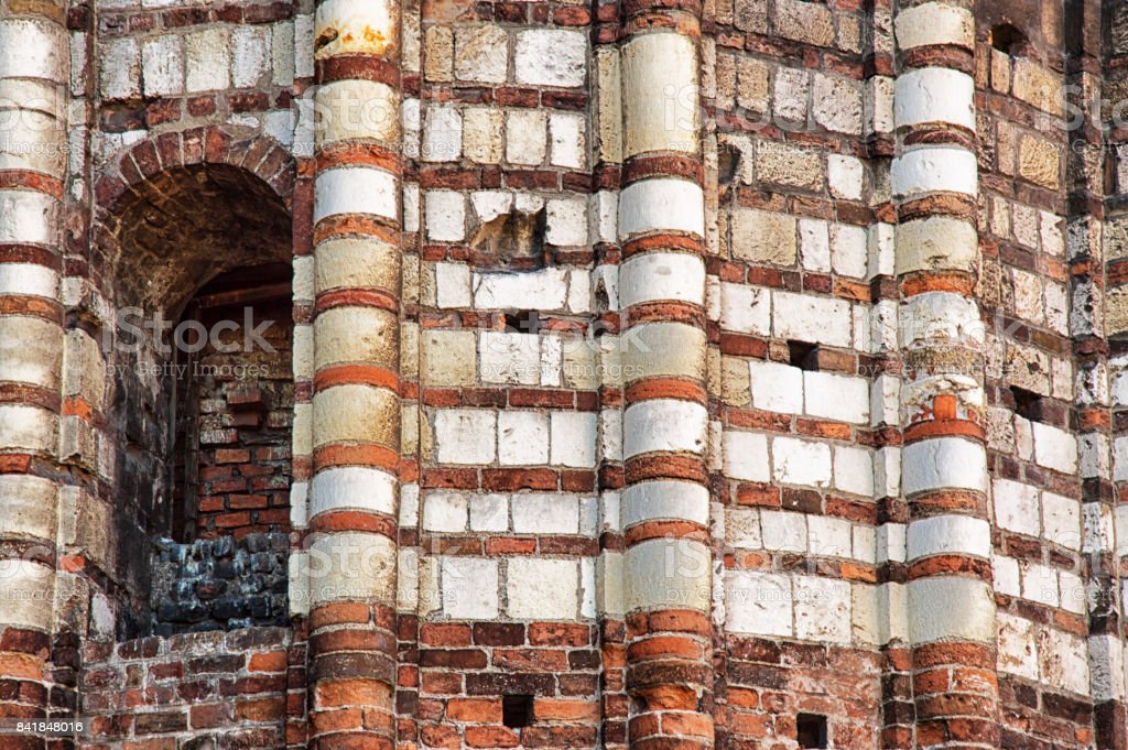 Architectural details in Verona stock photo