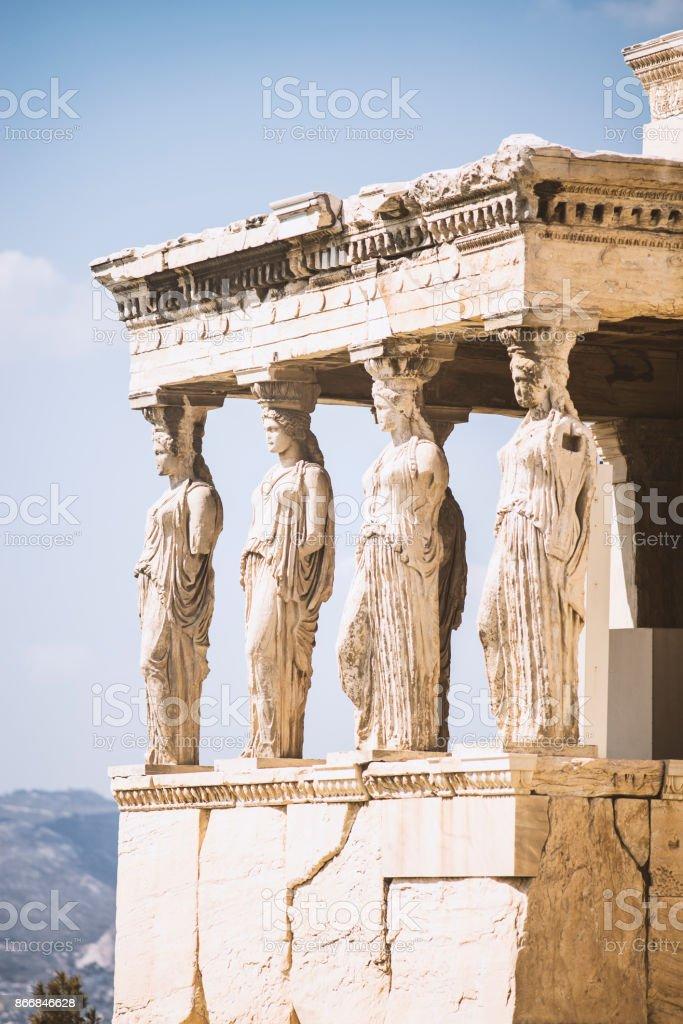 Architektonischen Details der Akropolis – Foto