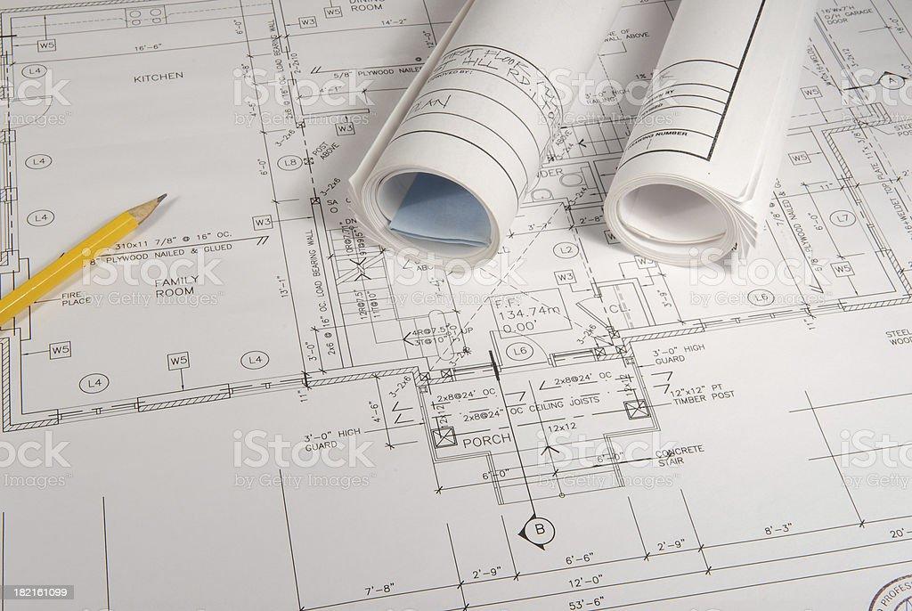 Architektonische Zeichnungen 13 – Foto