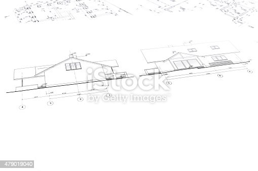 istock architectural drawings of new house 479019040