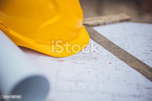936384788 istock photo Architectural equipment at construction site! 1004763162