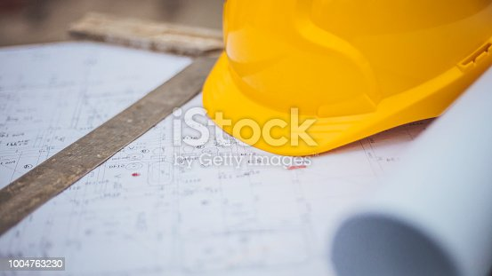 936384788 istock photo Architectural equipment at construction site! 1004763230
