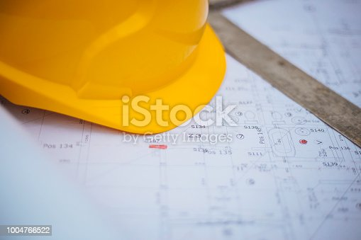 936384788 istock photo Architectural equipment at construction site! 1004766522