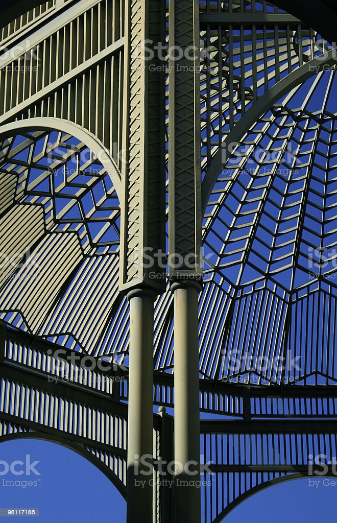Architectural Gazebo royalty-free stock photo