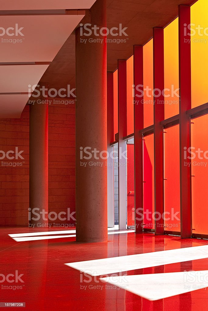 Architectural Interior Detail royalty-free stock photo