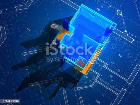 512113530 istock photo Architectural Model 170093896