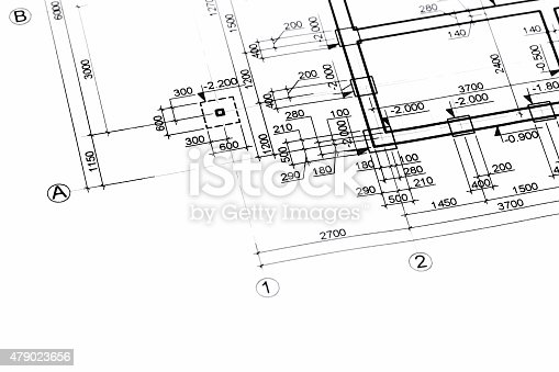 istock architectural or engineering plans 479023656