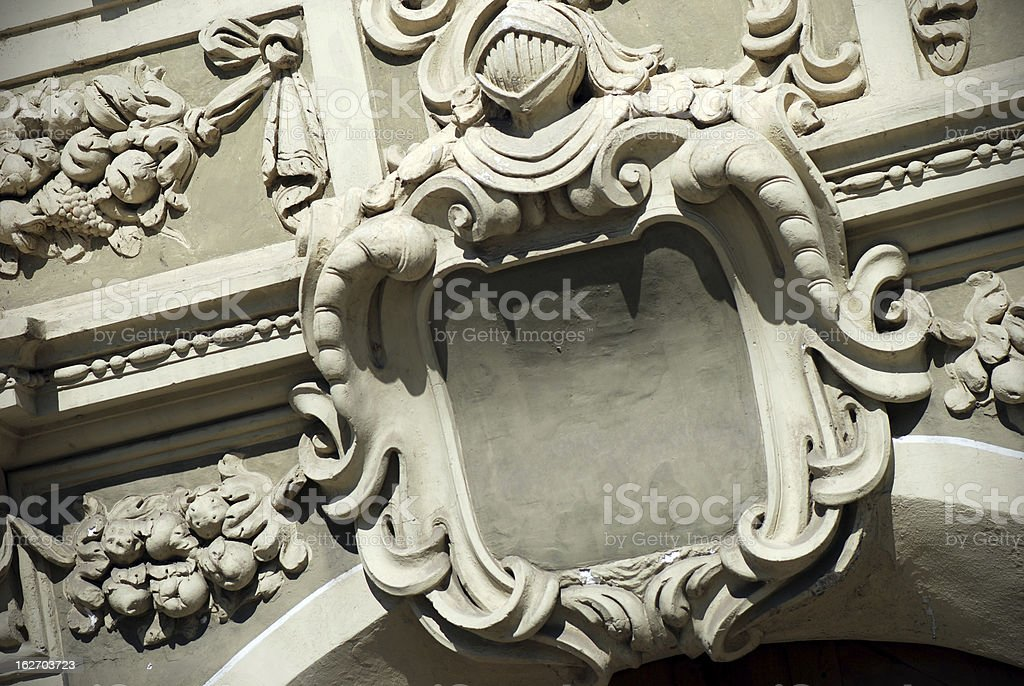 Architectural ornament royalty-free stock photo