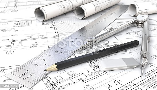 istock Architectural planning. 845439736