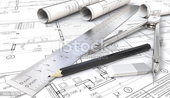 845440944istockphoto Architectural planning. 845439736