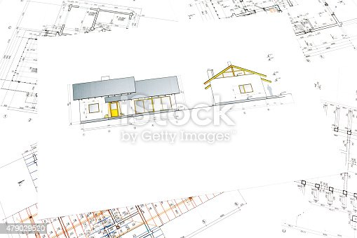 istock architectural project of new house 479029520