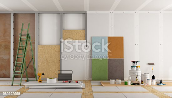 istock architectural restoration of an old room 532552558