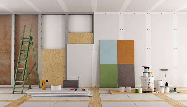 Architektonische Sanierung eines alten Zimmer – Foto